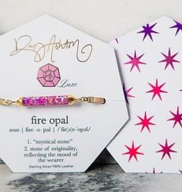 rory ashton fuschia luxe fire opal choker