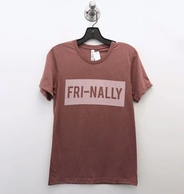 mauve fri-nally tee
