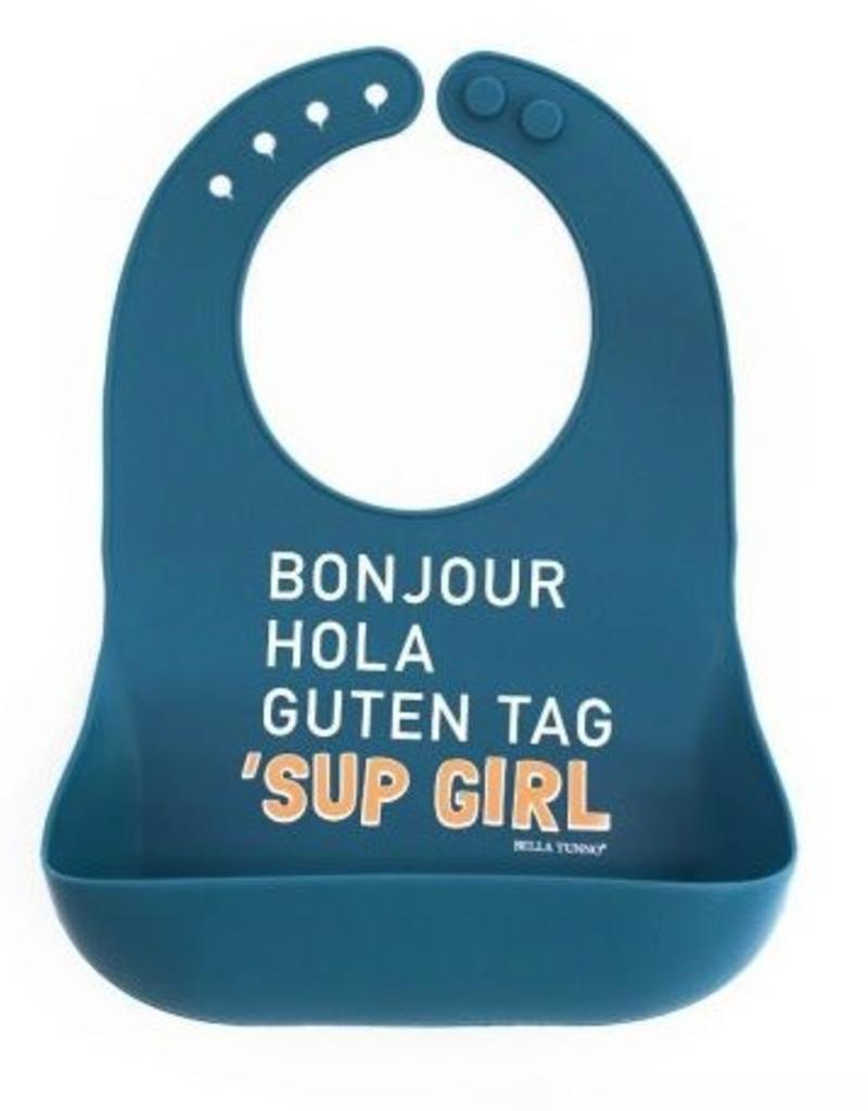 Bella Tunno sup girl wonder bib