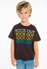chaser rock out vintage jersey tee FNAL SALE