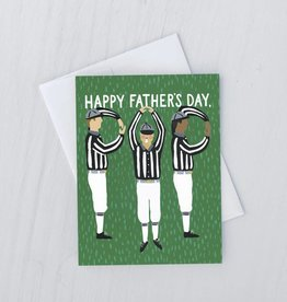 referees dad card