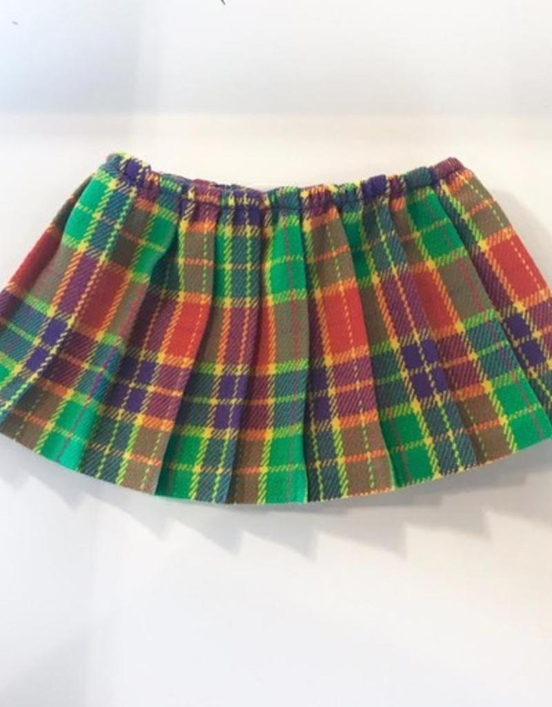 pleated plaid skirt FINAL SALE