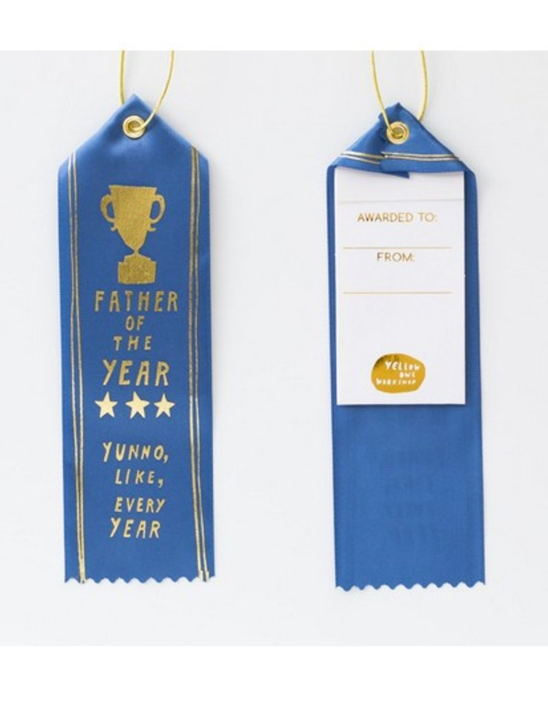father of the year award ribbon