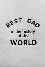 los angeles trading co best dad in history plush robe