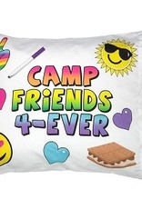 camp friends forever pillowcase FINAL SALE
