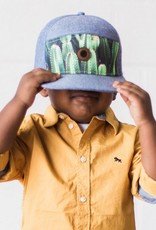 The Blueberry Hill cactus snapback