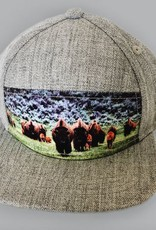 The Blueberry Hill bison snapback