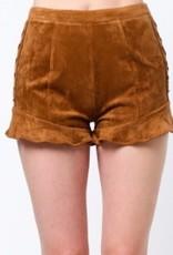 very j lace up shorts FINAL SALE