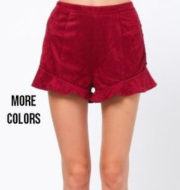 very j lace up shorts FINAL SALE