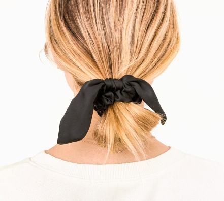 knotted bow scrunchie - Stash Apparel and Gifts 17539494225