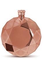 rose gold gem flask