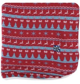 kickee pants nordic print throw blanket