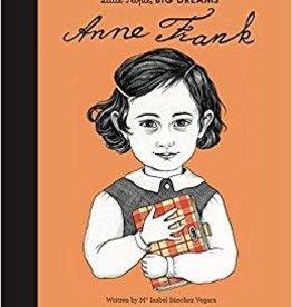 little people big dreams book: anne frank