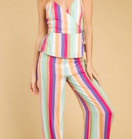 wild honey striped pants FINAL SALE