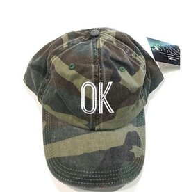 camo ok hat
