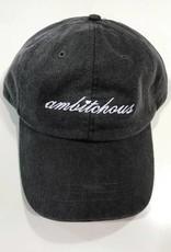 R+R black ambitchous hat