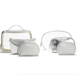 two's company set of 3 cosmetic cases