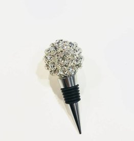 two's company pave bottle stopper