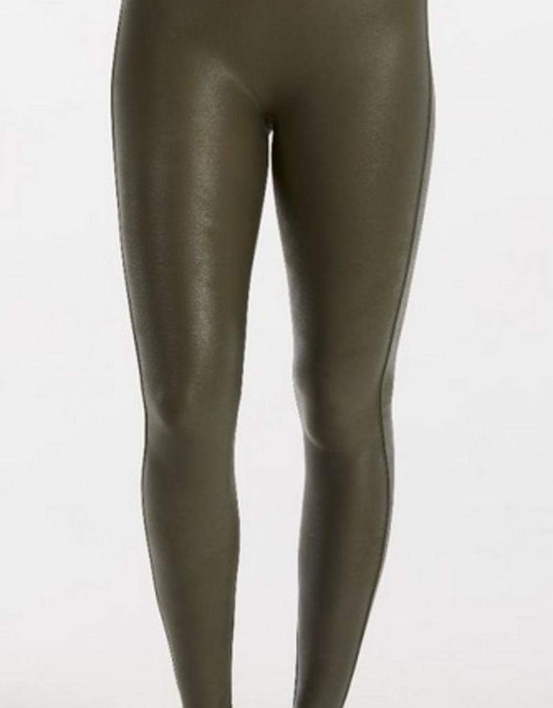 66beb7dbcf3084 spanx olive faux leather legging spanx olive faux leather legging ...