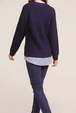 bb dakota back at it shirt tail sweater FINAL SALE