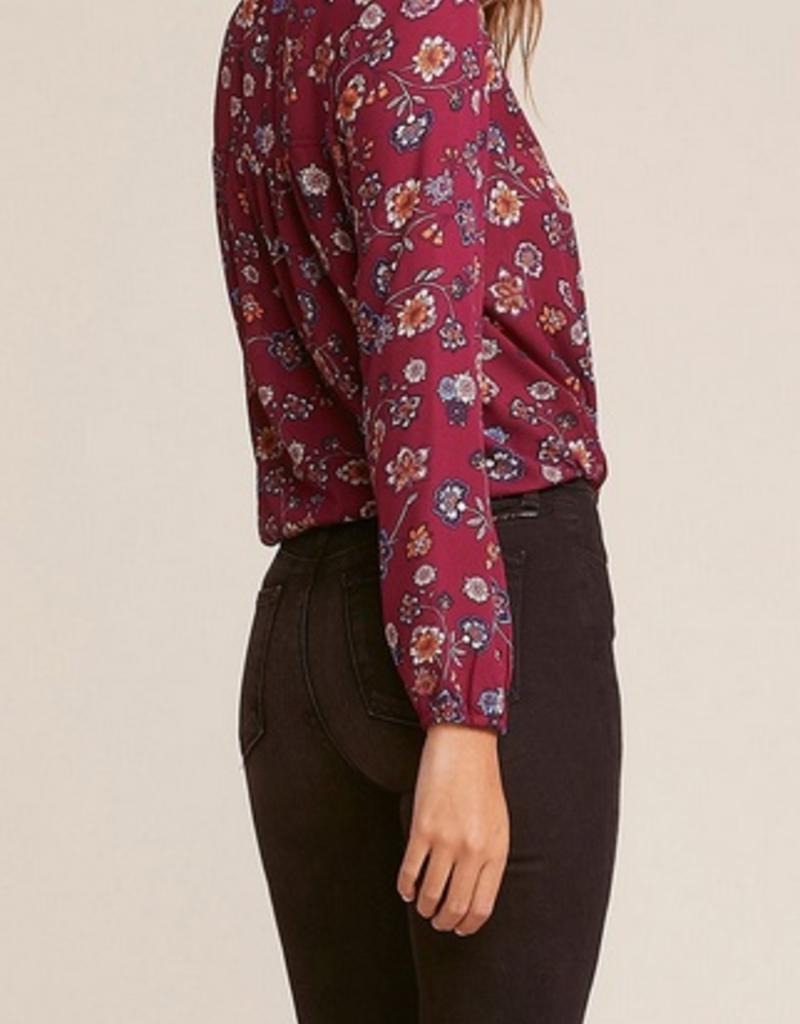 allora printed top