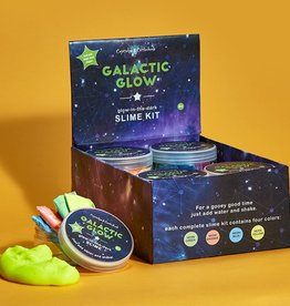 two's company galactic glow- make glow in the dark slime