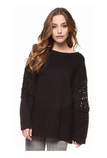 dex cable insert pullover top