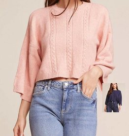 extra whip mock neck sweater FINAL SALE