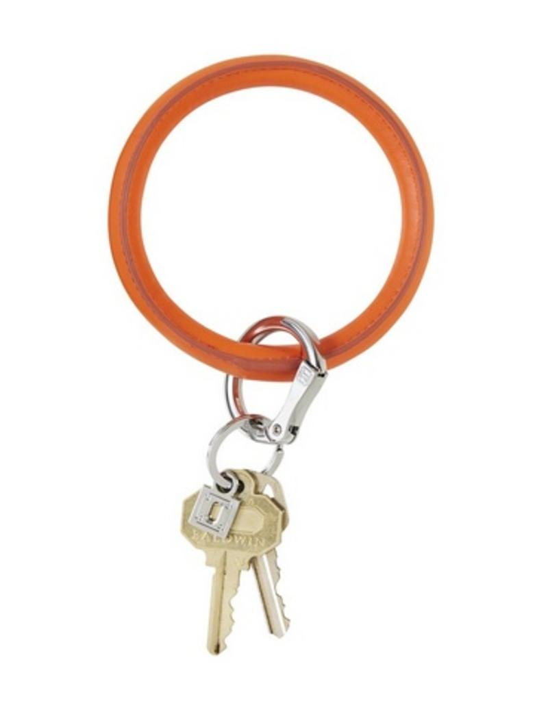 o venture vegan leather o key ring