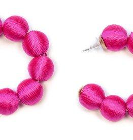 sasha bead hoops