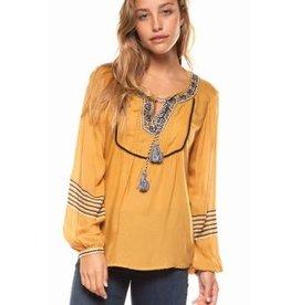dex peasant blouse FINAL SALE