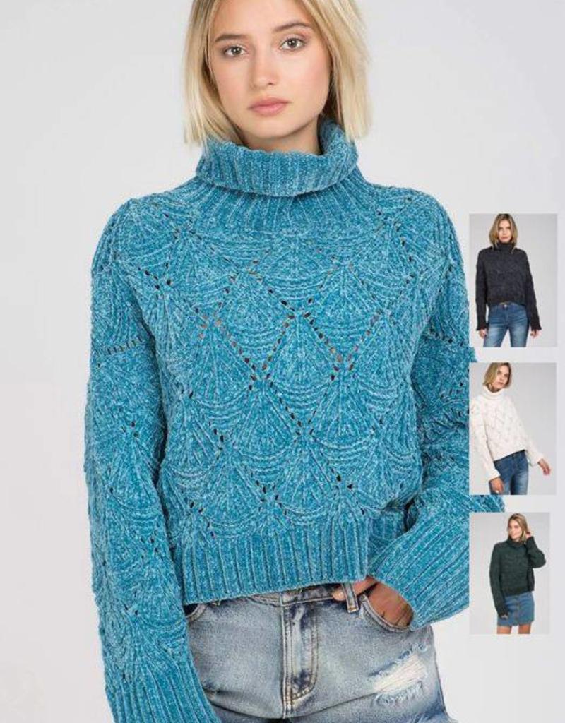 chandelier sweater FINAL SALE