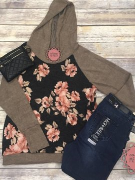 Full Of Floral Pullover