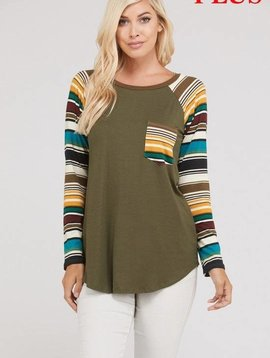 Rainbow Bands Top
