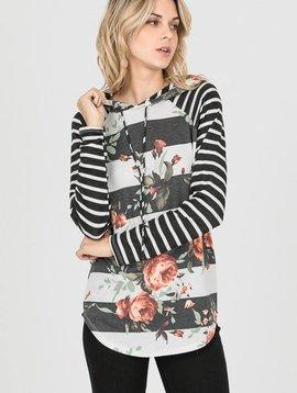 Garden Striped Sweater