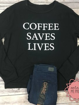Coffee Therapy Pullover