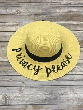 Privacy Please Hat