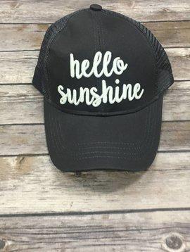 Hello Sunshine Baseball Hat