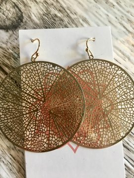 CIrcle Flats Earrings