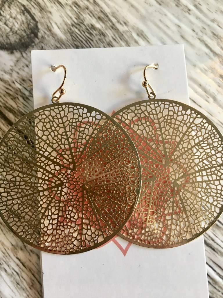 CIrcle Flats Earrings