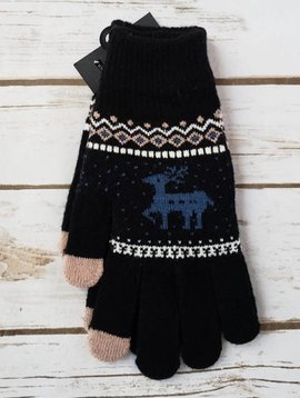 Reindeer Touch Screen Gloves