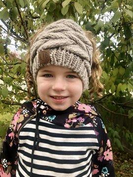 Knit Ponytail Beanie