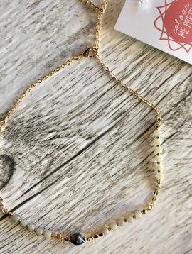 Mixed Bead Crop Necklace