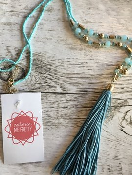 Colorful Leather Tassel