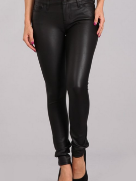 Highway Faux Leather Jeans