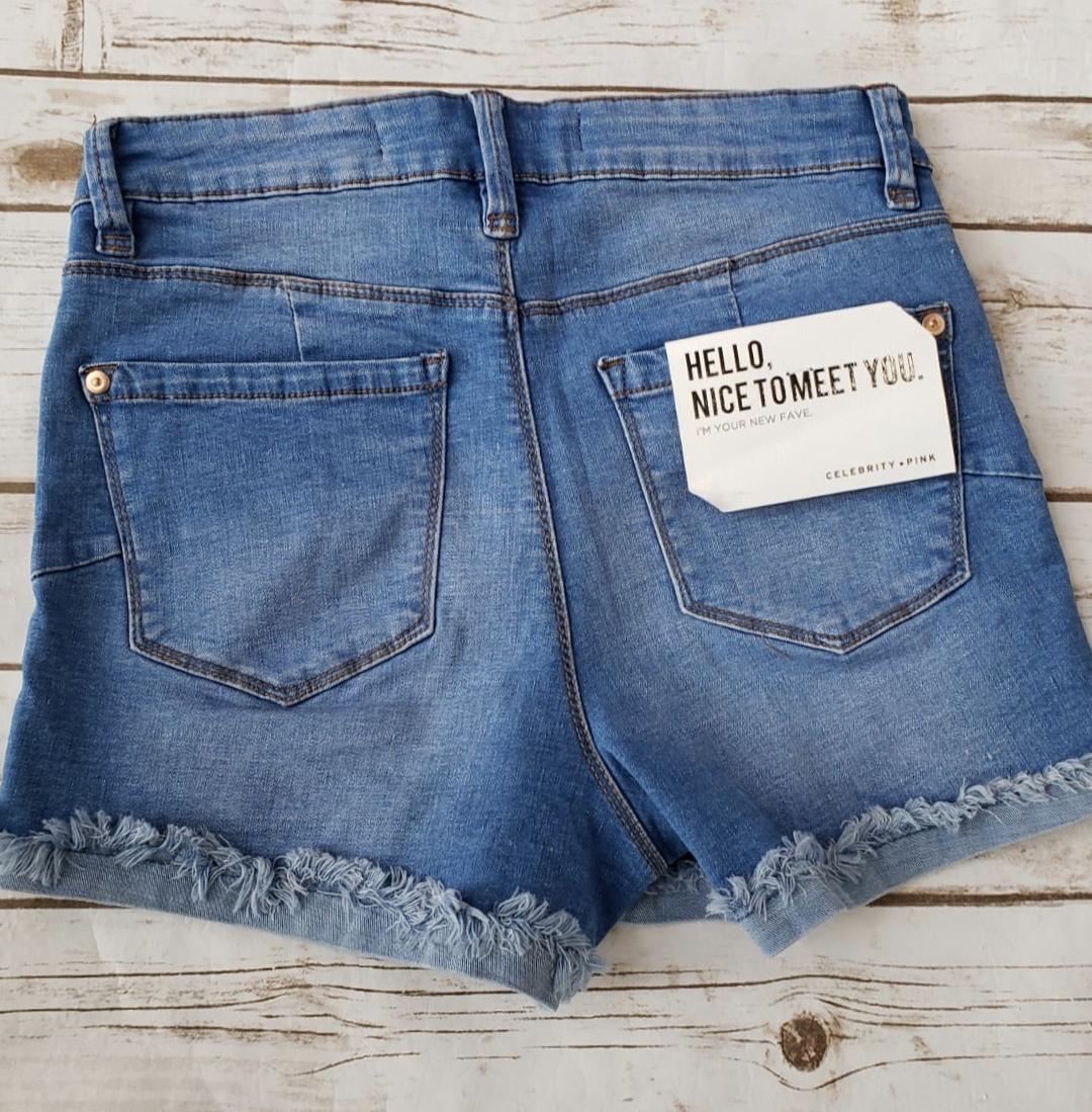 70's Blue Shorts
