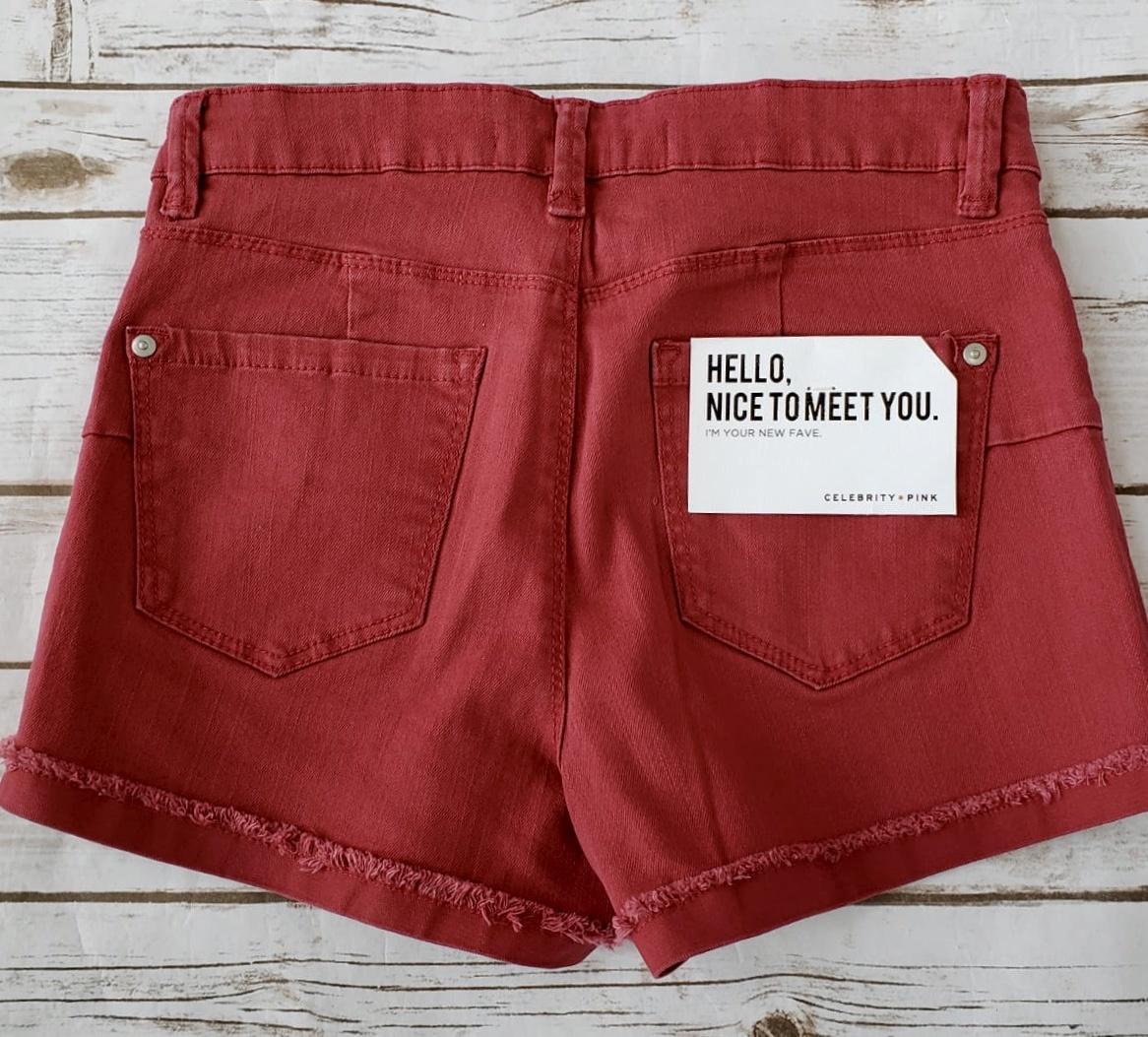 Firey Red Shorts