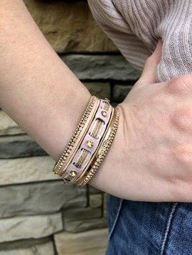 Pink Lemonade Magnetic Bracelet