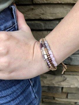 Soft Tones Bead Bracelet