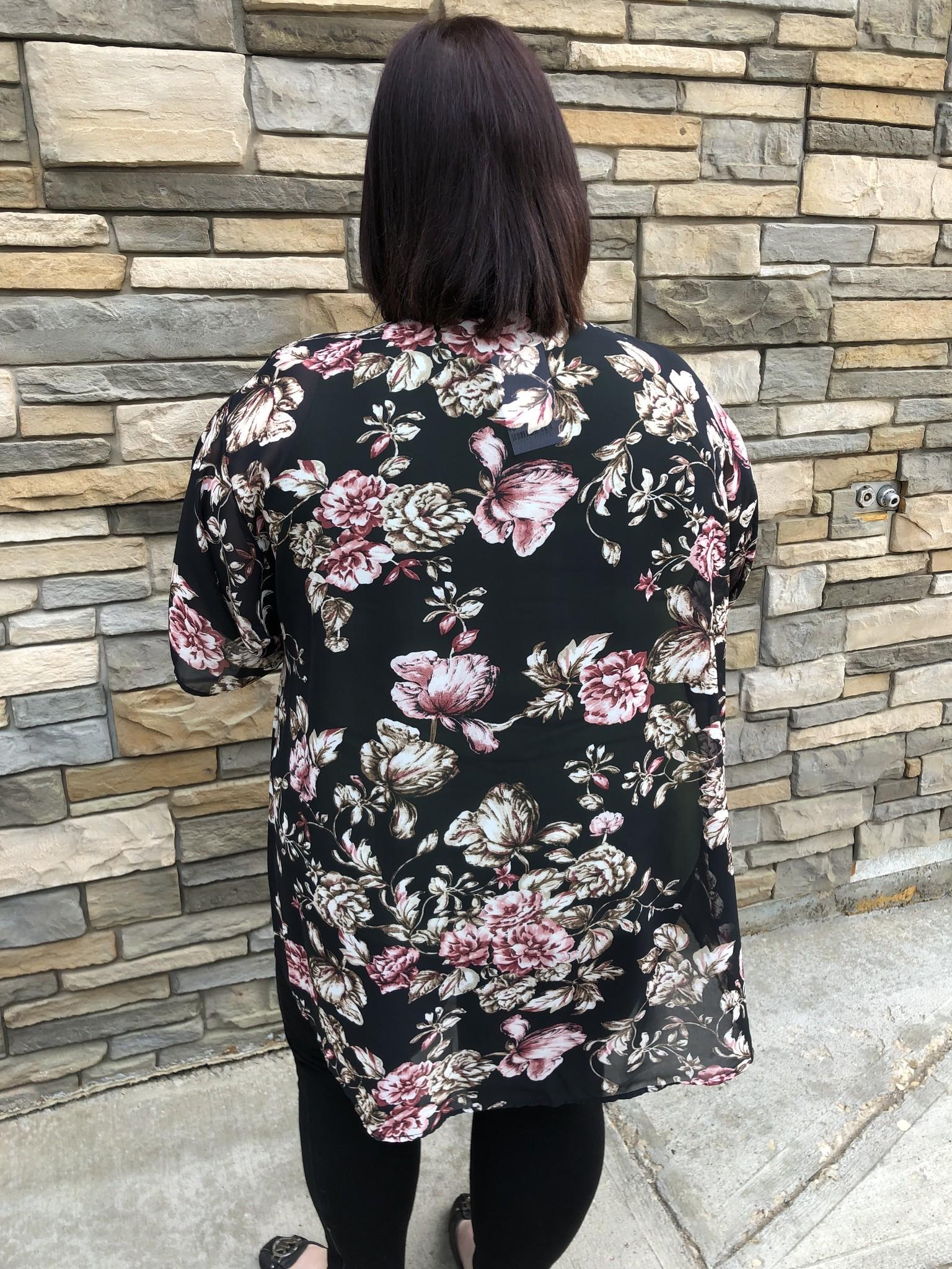 Midnight Garden Kimono